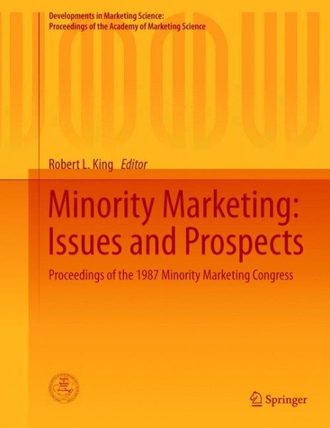 Minority Marketing: Issues and Prospects
