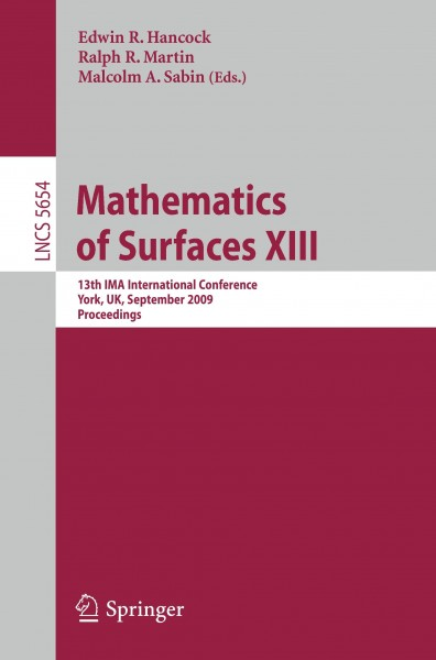 Mathematics of Surfaces XIII