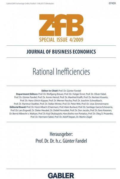 Rational Inefficiencies