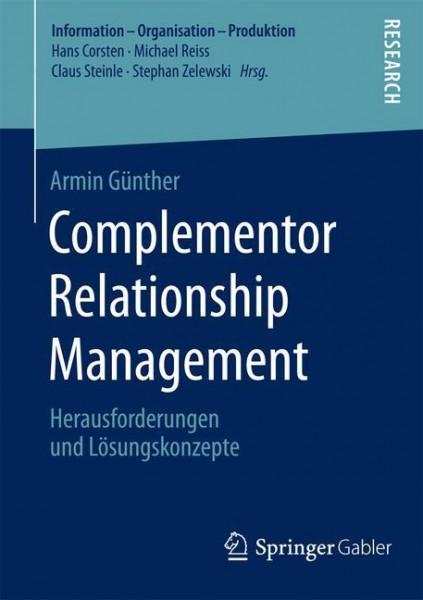 Complementor Relationship Management
