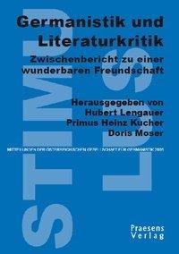Germanistik und Literaturkritik