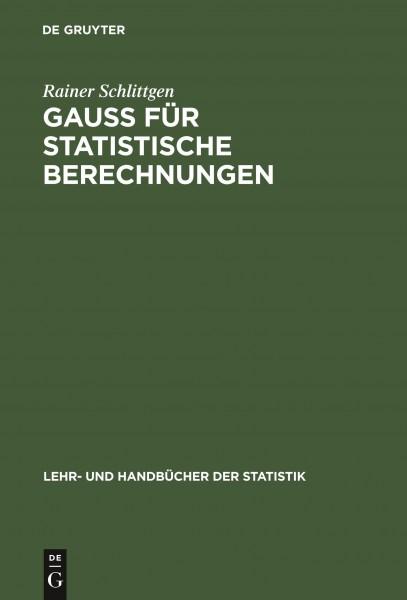 GAUSS für statistische Berechnungen