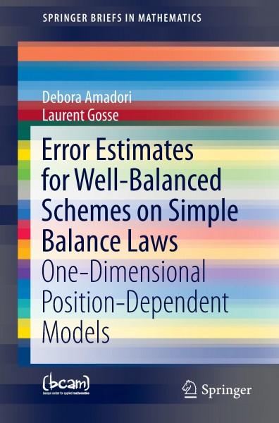 Error Estimates for Well-Balanced Schemes on Simple Balance Laws