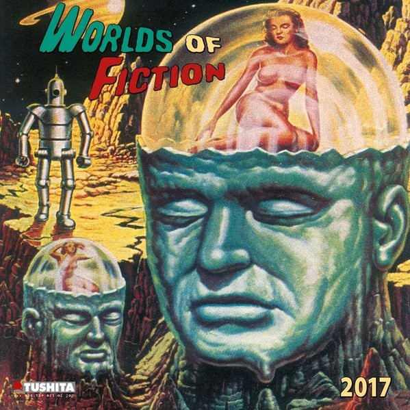 Worlds of Fiction 2017: Kalender 2017 (Media Illustration)