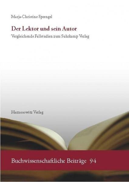 Der Lektor und sein Autor