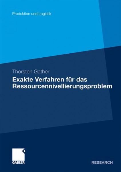 Exakte Verfahren für das Ressourcennivellierungsproblem
