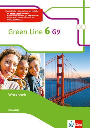 Green Line 6 G9. Workbook mit Audio CD Klasse 10