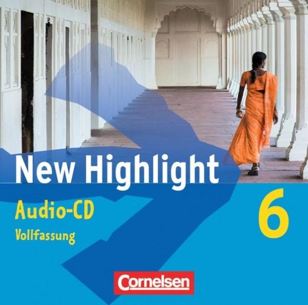 New Highlight - Allgemeine Ausgabe und Baden-Württemberg: Band 6: 10. Schuljahr - Lieder- und Text-C