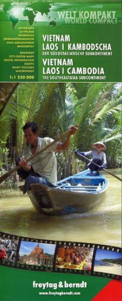 FuB Vietnam - Laos - Kambodscha 1 : 1 200 000 World Compact Series