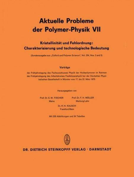 Kristallinität und Fehlordnung: Charakterisierung und technologische Bedeutung