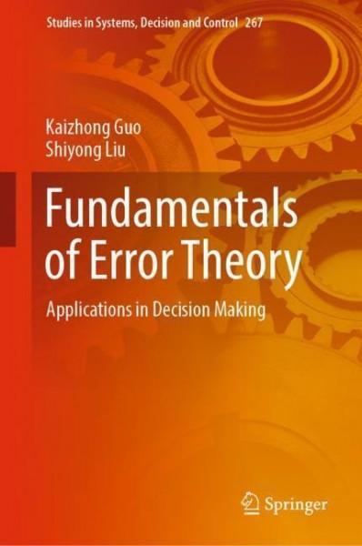 Fundamentals of Error Theory