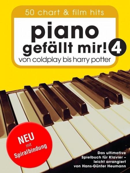 Piano gefällt mir! 50 Chart und Film Hits - Band 4 (Variante Spiralbindung)