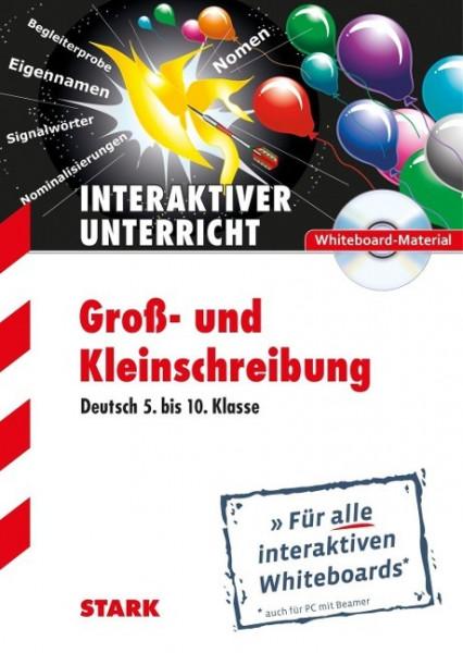 """Deutsch """"Groß- und Kleinschreibung"""" CD-ROM Whiteboard-Anwendung"""