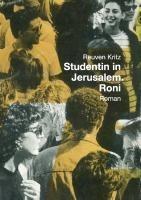 Studentin in Jerusalem. Roni
