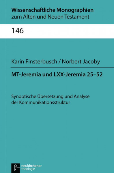 MT-Jeremia und LXX-Jeremia 25-52