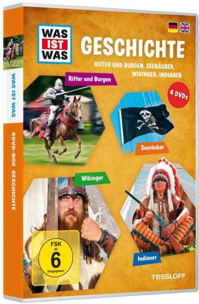 WAS IST WAS DVD-Box 04. Geschichte