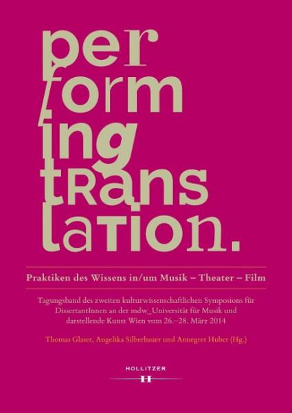 Performing Translation
