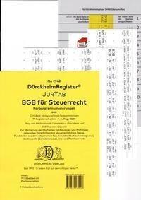 DürckheimRegister® BGB im Steuerrecht Gesetze und §§ 2021