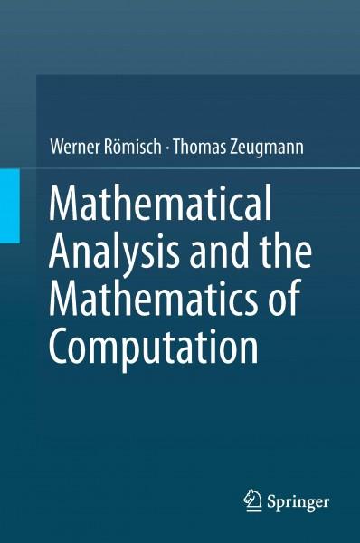 Mathematical Analysis and the Mathematics of Computation