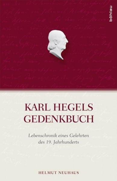 Karl Hegels Gedenkbuch