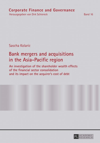 Bank mergers and acquisitions in the Asia-Pacific region