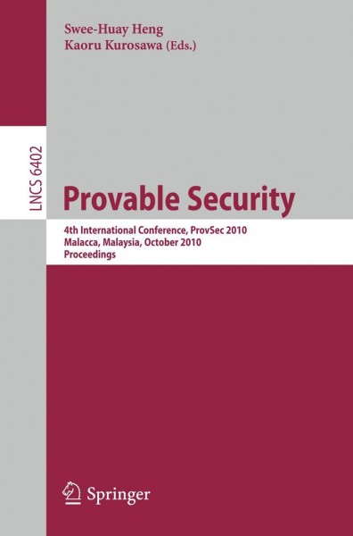 Provable Security