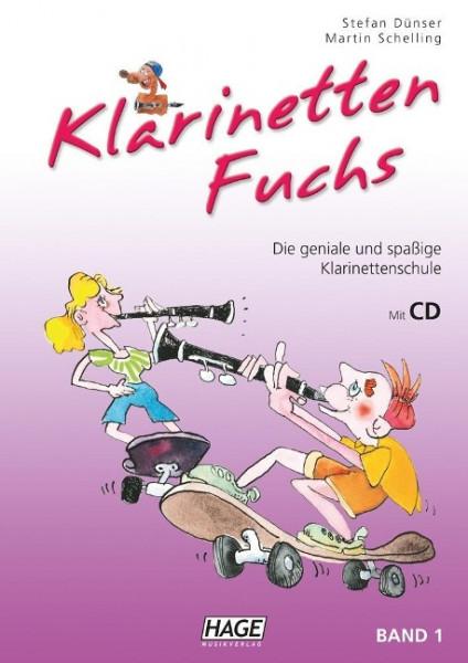 Klarinetten Fuchs Band 1 mit CD
