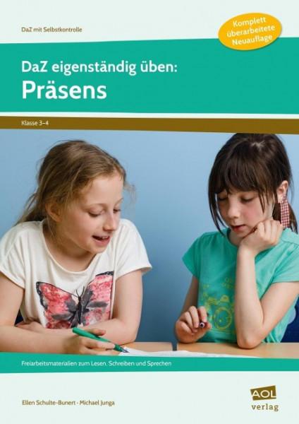 DaZ eigenständig üben: Präsens - GS