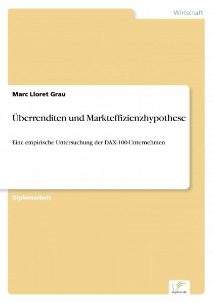 Überrenditen und Markteffizienzhypothese