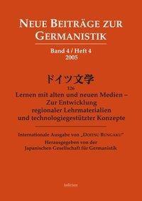 Neue Beiträge zur Germanistik Bd.4 Heft 4