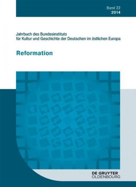 Jahrbuch des Bundesinstituts für Kultur und Geschichte der Deutschen im östlichen Europa Band 22