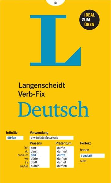 Langenscheidt Verb-Fix Deutsch - Deutsche Verben auf einen Blick - Ideal zum Üben
