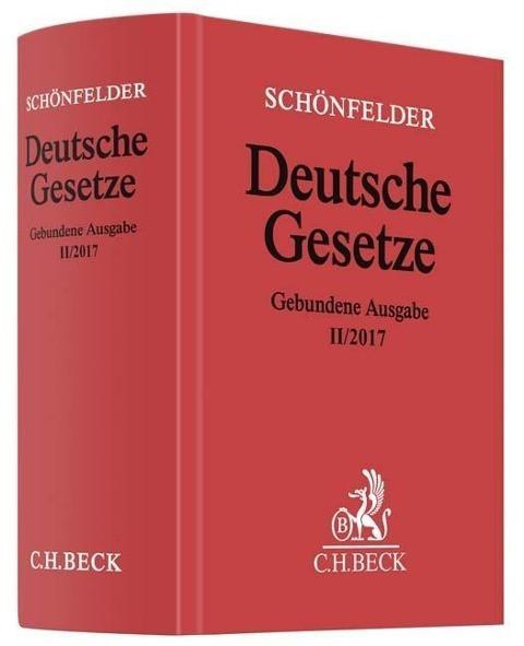 Deutsche Gesetze Gebundene Ausgabe II/2017