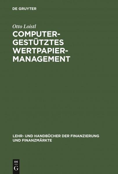 Computergestütztes Wertpapiermanagement