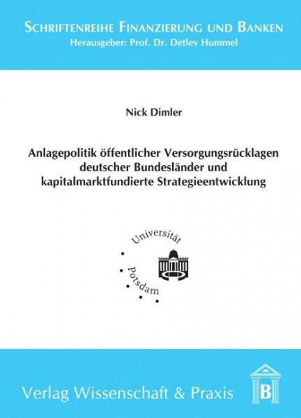 Anlagepolitik öffentlicher Versorgungsrücklagen deutscher Bundesländer und kapitalmarktfundierte Str