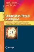 Computation, Physics and Beyond