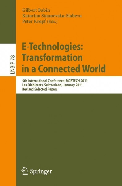 E-Technologies: Transformation in a Connected World
