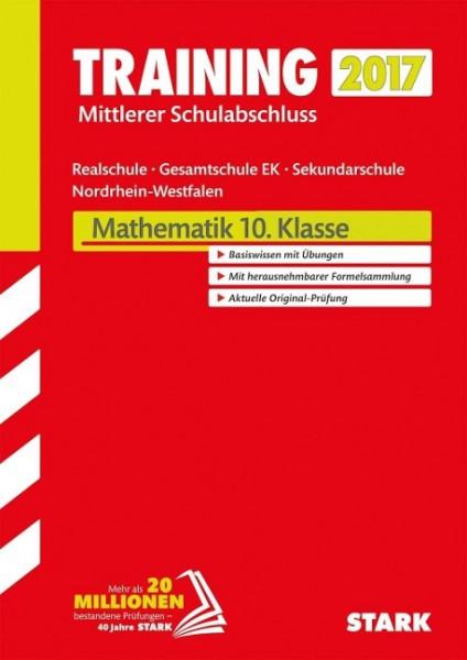 Training Zentrale Prüfung Realschule/Gesamtschule EK NRW 2017 - Mathematik