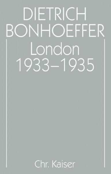 London 1933 - 1935