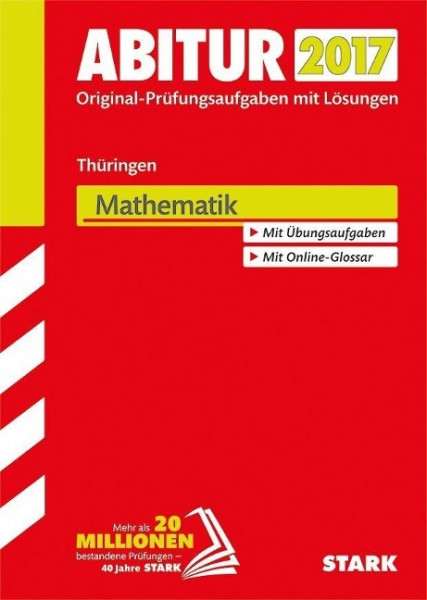 Abiturprüfung Thüringen 2017 - Mathematik