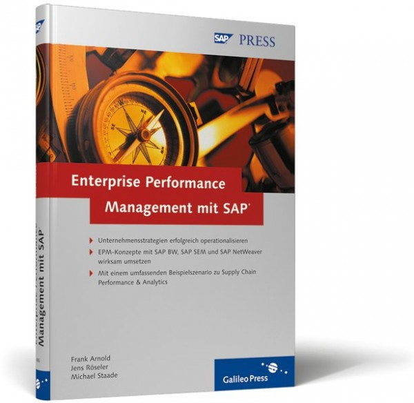 Enterprise Performance Management mit SAP: Unternehmensstrategien mit SAP BW, SAP SEM und SAP NetWea