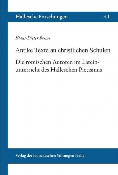 Antike Texte an christlichen Schulen