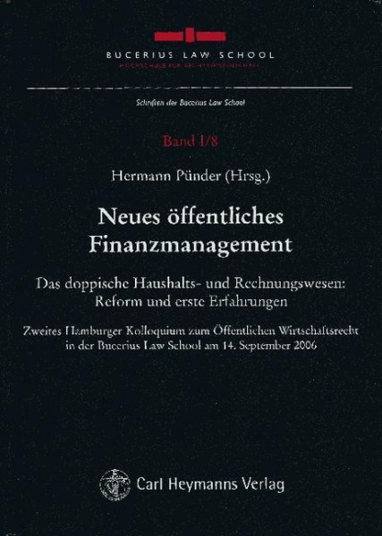 Neues öffentliches Finanzmanagement