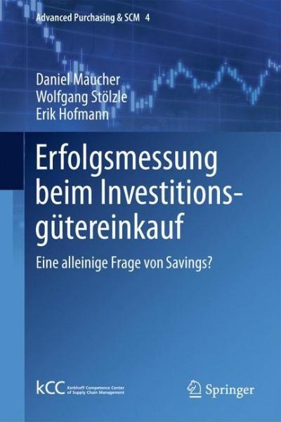 Erfolgsmessung beim Investitionsgütereinkauf