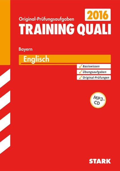 Training Quali Bayern - Englisch A4, mit MP3-CD