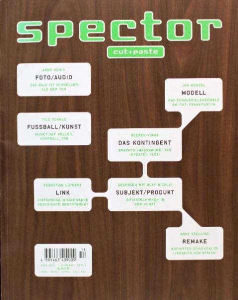 Spector cut+paste: #1 - 4