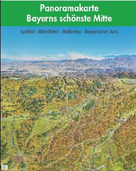 Bayerns schönste Mitte Panoramakarte