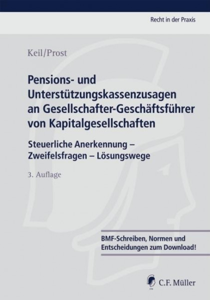 Pensions- und Unterstützungskassenzusagen an Gesellschafter-Geschäftsführer von Kapitalgesellschafte