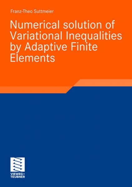 Numerical solution of Variational Inequalities by Adaptive Finite Elements