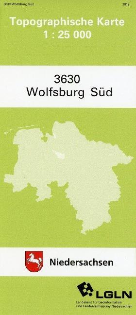 Wolfsburg S?d 1 : 25 000. (TK 3630/N)